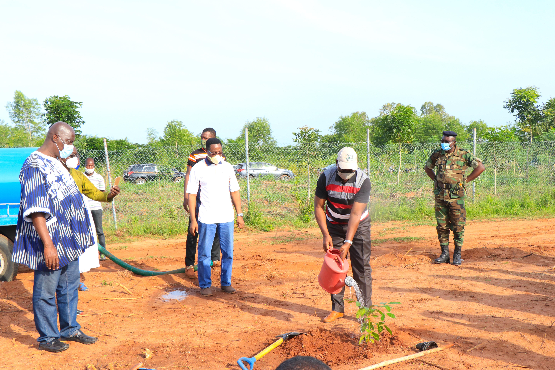 La Journée nationale de l'Arbre célébrée sur le site du Centre d'Enfouissement Technique d'Aképé