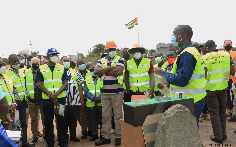 Viste du Ministre d'Etat Boukpessi et les Maires des Communes du Grand Lomé au CET d'Aképé