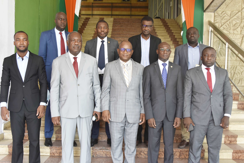 Coopération décentralisée : Des cadres du DAGL en mission d'étude au District Autonome d'Abidjan
