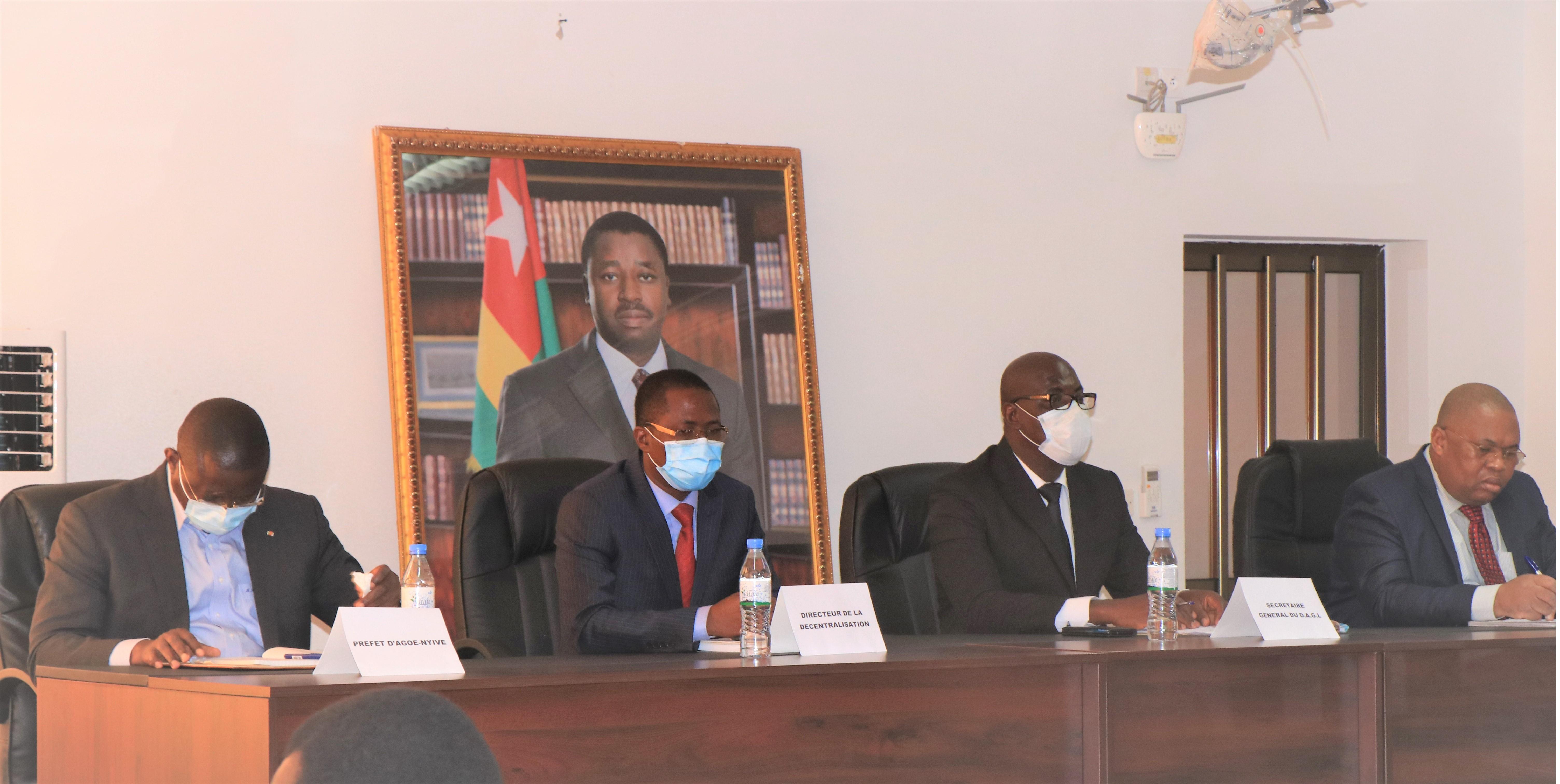 Les acteurs impliqués dans la gestion des déchets du Grand Lomé se concertent