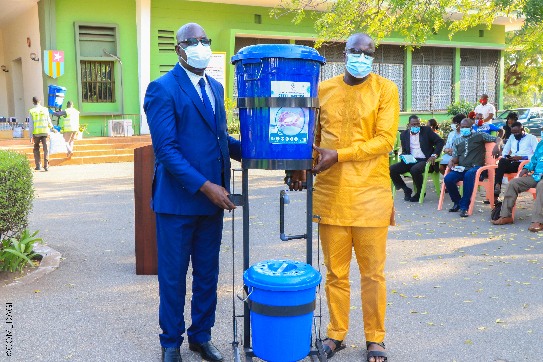 Le District Autonome du Grand Lomé renforce le dispositif sanitaire des préfectures et communes du grand Lomé