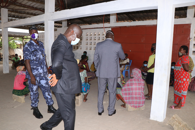 Le Comité de riposte contre la COVID-19 veille au respect des mesures barrières dans les marchés du Grand Lomé