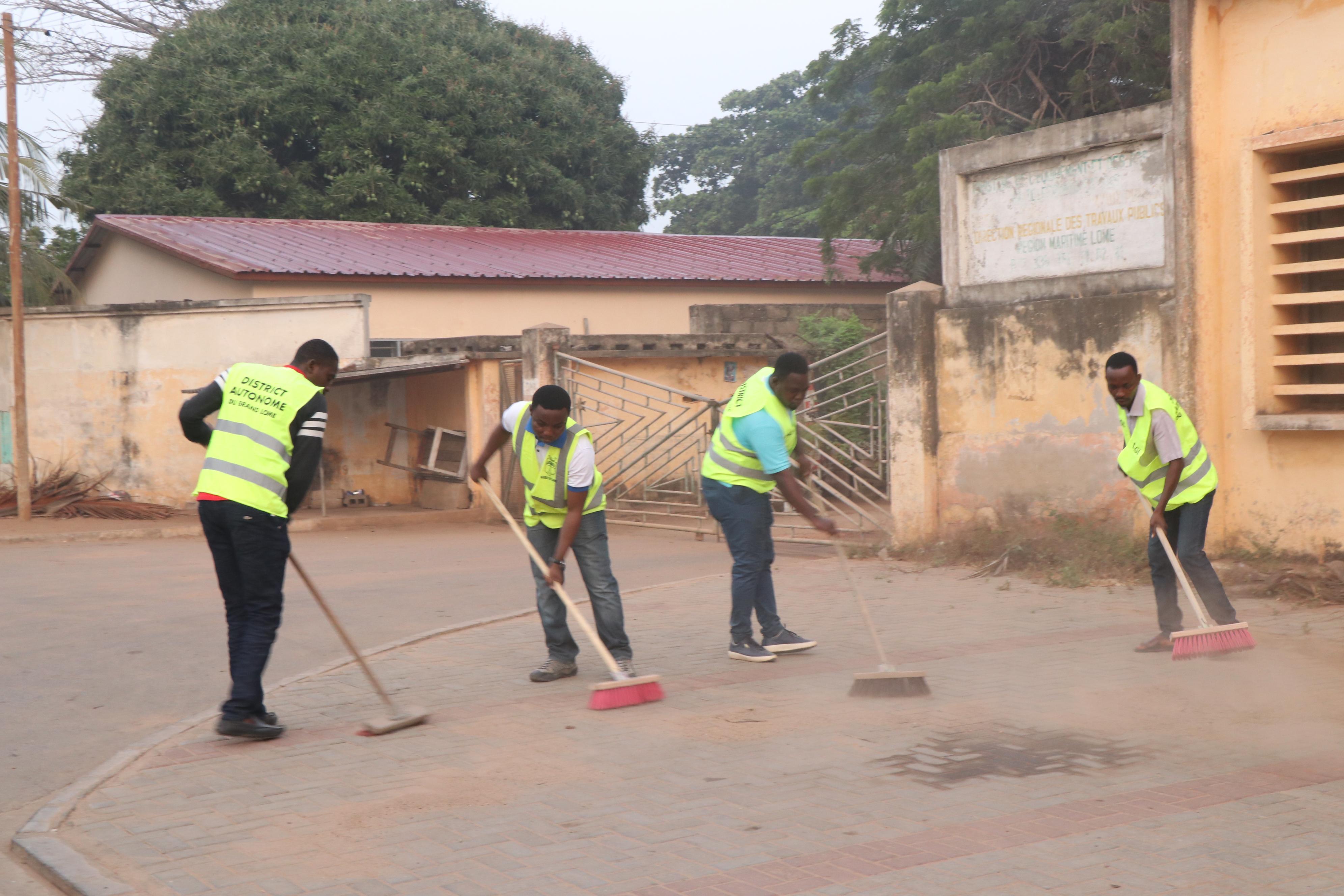 La traditionnelle opération « Togo Propre » respectée par les agents du DAGL