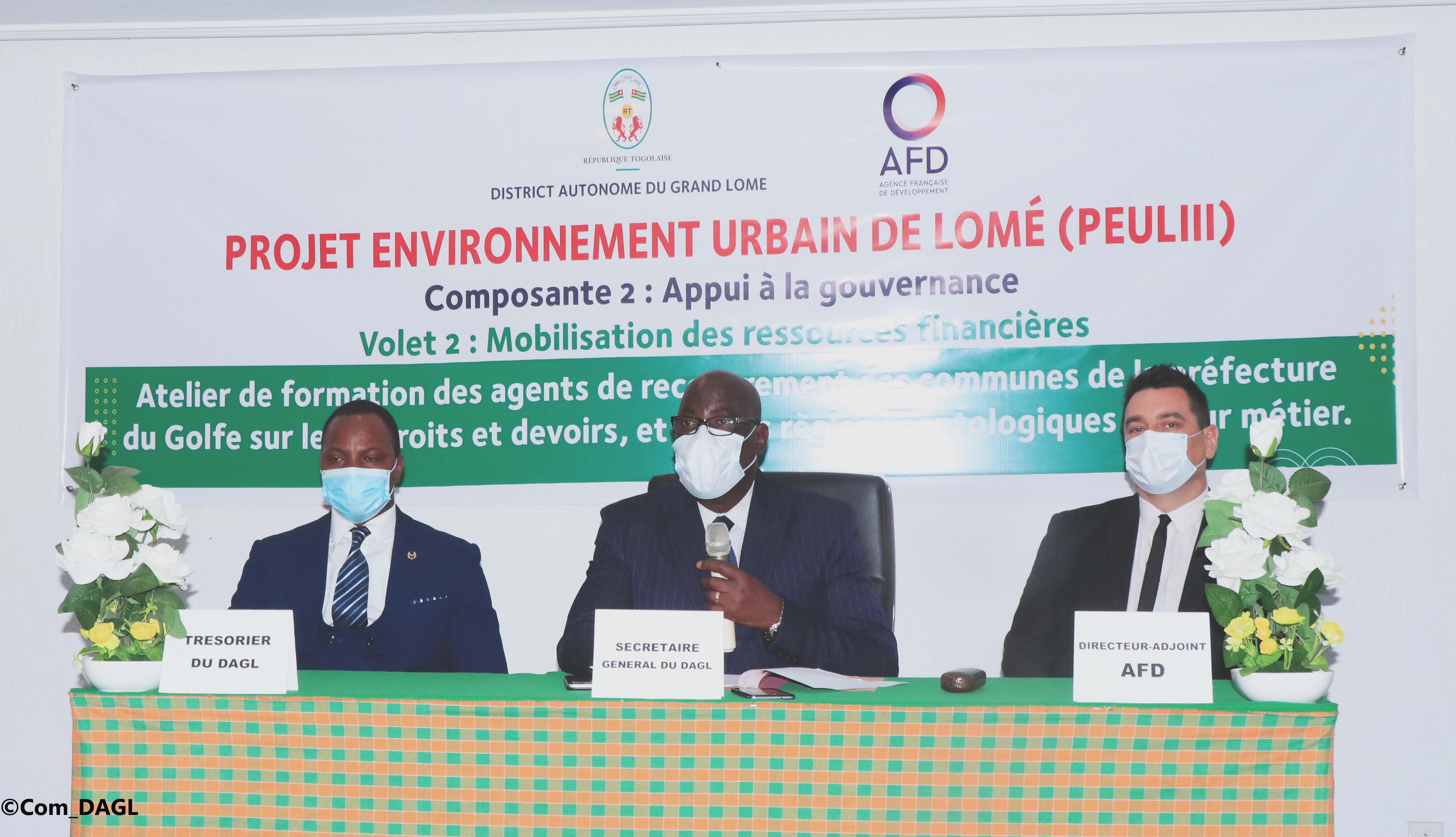 Mobilisation des recettes municipales : le DAGL renforce les capacités des agents de recouvrement des communes de la préfecture du Golfe