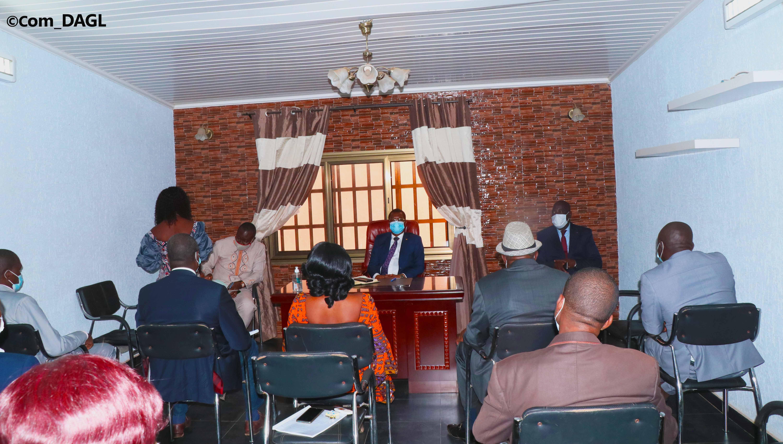 Le DAGL et la Mairie d'Aflao Gakli balisent la voie pour des actions synergiques et concertées